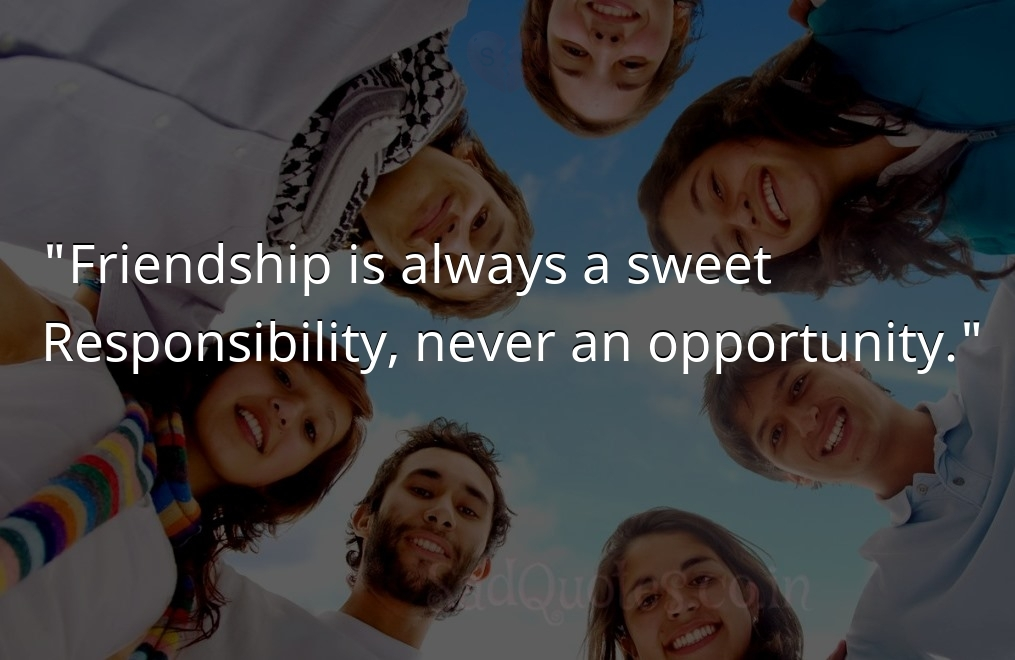 Friendship is always a sweet  - Friendship Quotes