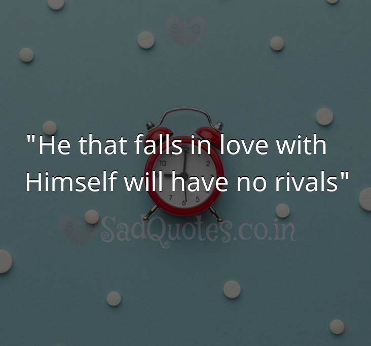 He that falls in love with - Time  Quotes