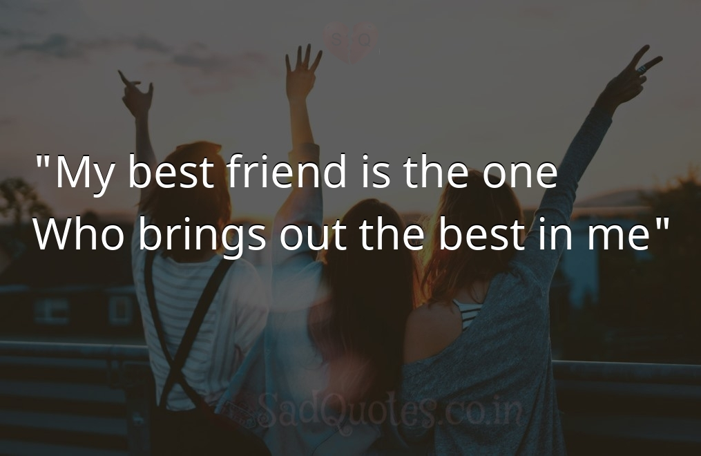 My best friend is  - Friendship Quotes