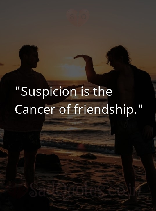 Suspicion is the  - Friendship Quotes