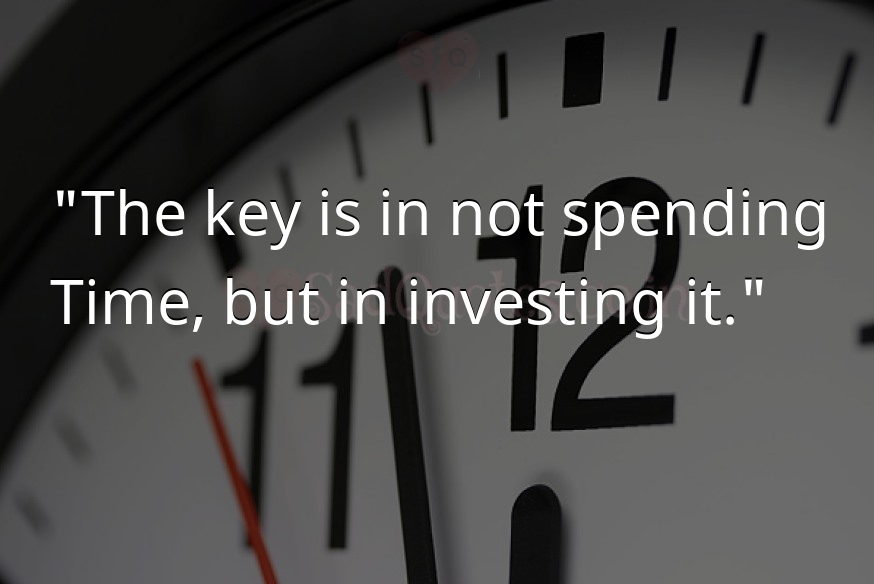 The key is in not spending
